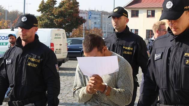 Šestadvacetiletý Jihočech Tomáš D. poputuje do vazby.