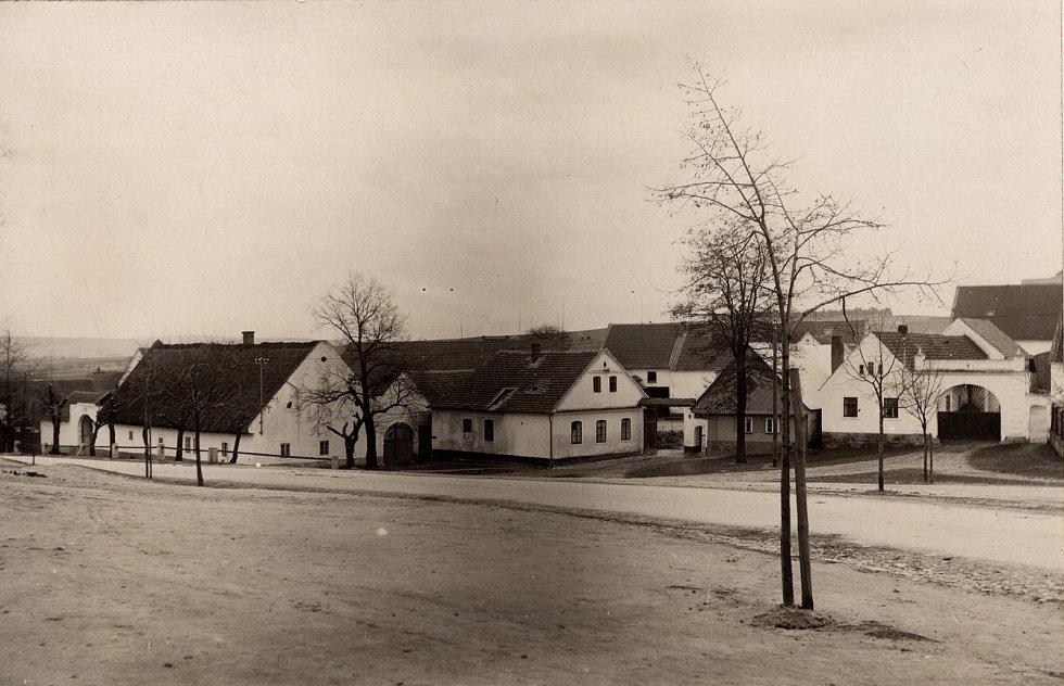 Bolevecká náves v Plzni.