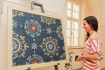 Výstava Mozaiky z Ravenny ve Studijní a vědecké knihovně Plzeňského kraje