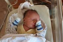 Tomáš Liška (3210 g, 47 cm) se narodil 17. října ve 22:24 hodin v plzeňské FN Lochotín. Maminka Eva a tatínek Martin z Břas věděli dopředu, že jejich prvorozené miminko bude kluk.