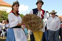 Dožínky a oslavy v severoplzeňském Rochlově