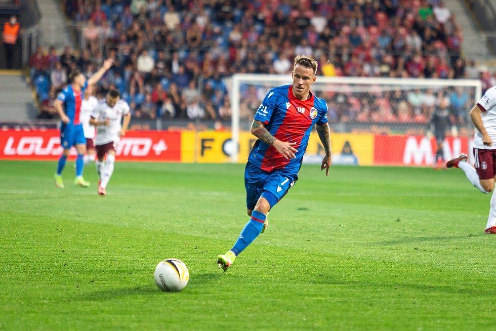 Jan Sýkora v utkání se Spartou. Foto: fcv