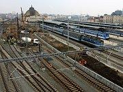 Modernizace hlavního nádraží ČD, rekonstrukce kolejiště a nástupiště západní část.