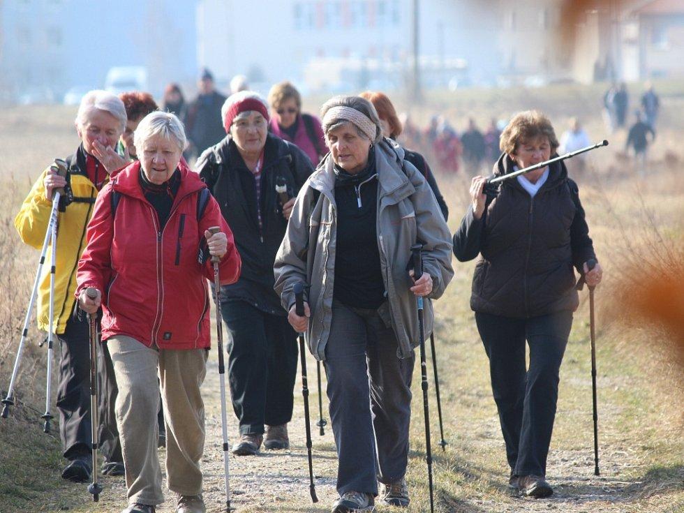 Sedmadvacátý ročník turistického pochodu Hornobřízský puchýř