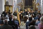 Již 27. ročník Haydnových hudebních slavností zahájili v pátek v kostele sv. Petra a Pavla v Dolní Lukavici