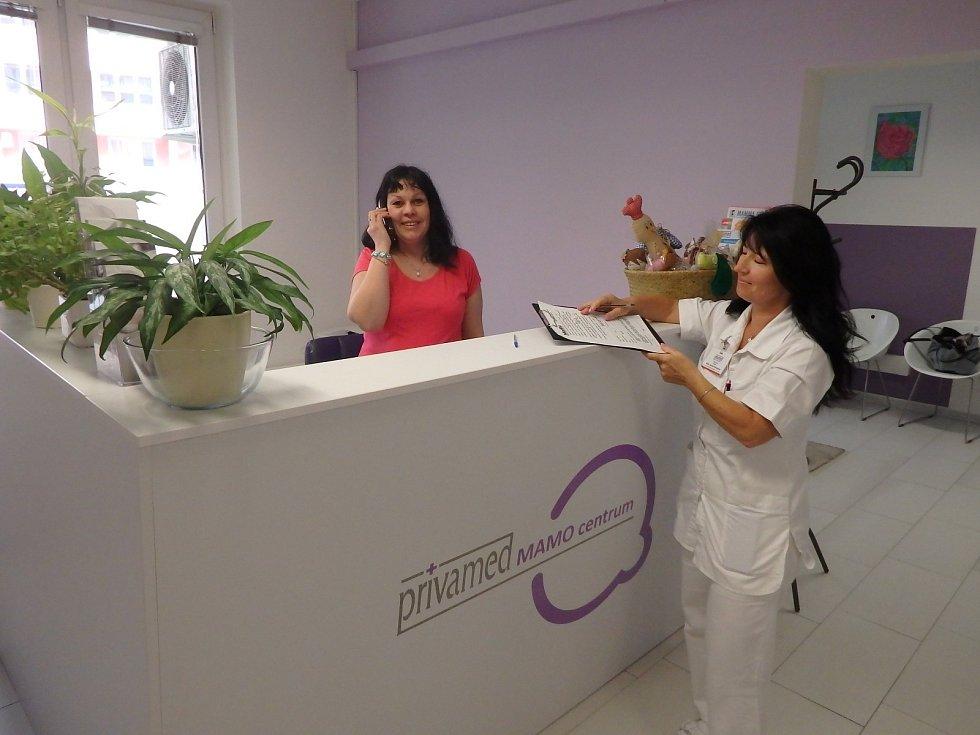 Centrum mamografického screeningu, mamografie a sono prsů Nemocnice Privamed.