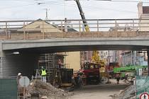 Oprava železničního mostu v Prokopově ulici v Plzni