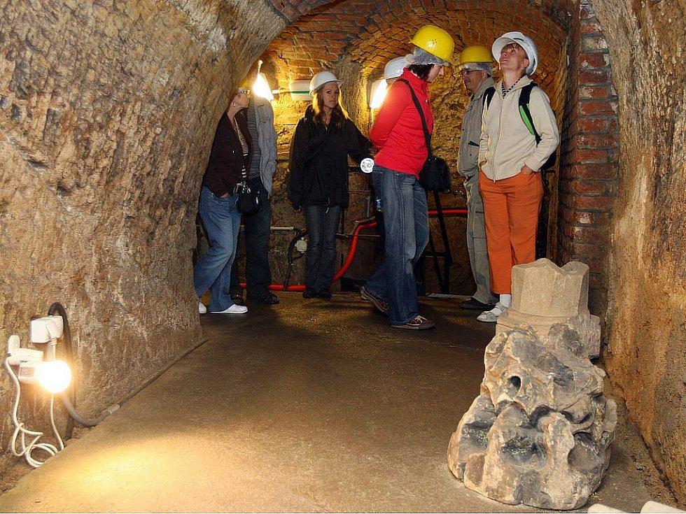 Plzeňské historické podzemí.