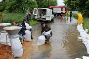 Povodeň v plzeňském centrálním městském obvodu