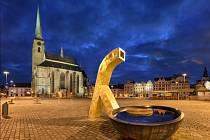 Historické centrum Plzně.