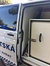 Nová služebna Městské policie Plzeň v Polední ulici v Lobzích.