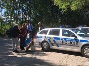 Kriminalisté na místě činu