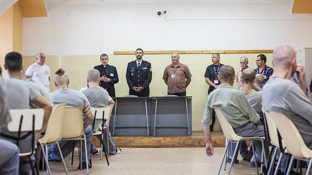 Zahájení školního roku ve věznici Bory.