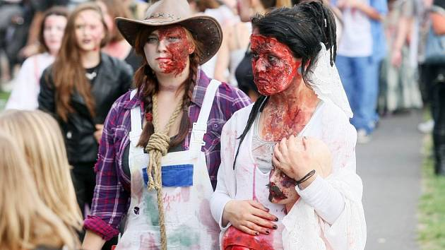 V Plzni se konal další ročník oblibené akce Zombie walk