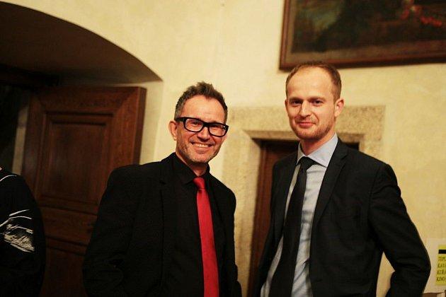 Michal Šašek (vpravo).