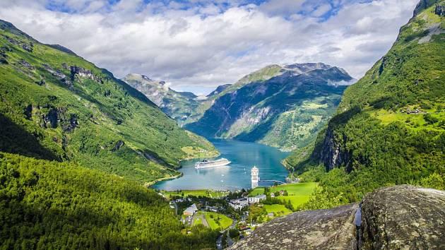 Norsko. Ilustrační
