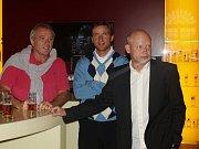 Ladislav Vízek, Vladimír Šmicer a Ivan Hašek