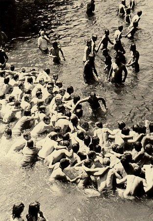 Hromadné osvěžení na Portě 1983