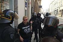 Romana F. na snímku, který k případu zveřejnila na facebooku České Plzně.
