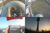 Štěpán si pro BASE jump vybírá přehrady, mosty a komíny v Čechách i cizině