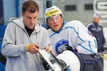 Hokejisté HC Škoda Plzeň vyjeli v rámci letošní přípravy poprvé na led.