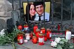 Vzpomínka na zavražděného novináře.