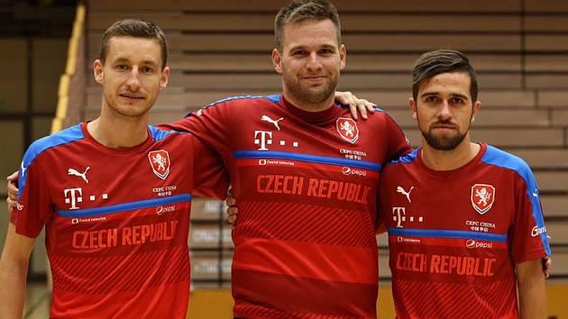 Michal Holý, Michal Kovács a Tomáš Vnuk.