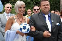 Svatba Romana Andrlíka.
