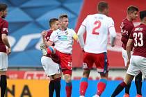 GÓL KAPITÁNA NESTAČIL. Fotbalisté Viktorie Plzeň prohráli na Spartě 1:3.