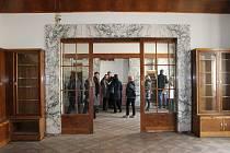 Běžně nepřístupný Loosův interiér bytu Huga Semlera v Plzni na Klatovské 19 se letos poprvé otevřel tuto sobotu.