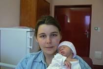 Michal Haas (2,59 kg, 46 cm) je prvorozený syn Žanety Haasové a Michala Kubačky ze Žlutic. Chlapeček přišel na svět 12. prosince v0:15 hod. ve Fakultní nemocnici vPlzni