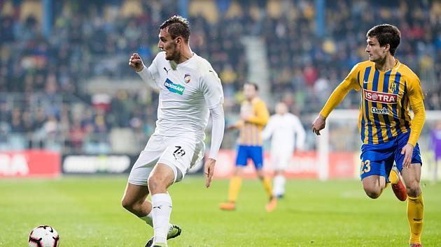 SFC Opava - Viktoria Plzeň 1:2 (0:1).