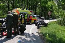 Nedělní nehoda u Vysoké