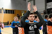 Brankář Karel Šmíd byl jedním ze strůjců vítězství Talentu v Lovosicích.
