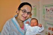 David Lipovský se narodil 11. ledna v 6:02 mamince Ivaně a tatínkovi Petrovi z Číčova. Po příchodu na svět v rokycanské porodnici vážil jejich syn 3000 gramů a měřil 46 centimetrů.