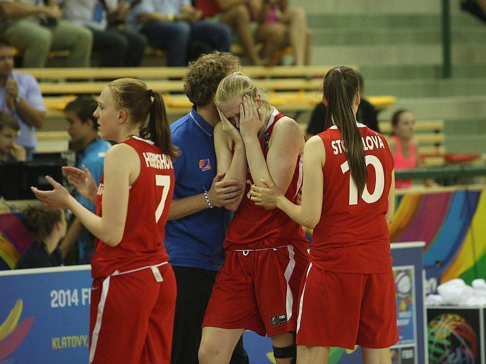 Semifinále MS v basketbalu žen U17: Česká Republika - Maďarsko