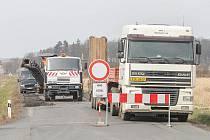 Rekonstrukce silnice mezi Malesicemi a Radčicemi
