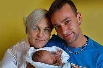 Dominik Marek se narodil 26. srpna v 7:47 mamince Michaele a tatínkovi Stanislavovi z Plzně. Po příchodu na svět v plzeňské porodnici U Mulačů vážil jejich prvorozený syn 2900 gramů a měřil 48 centimetrů.