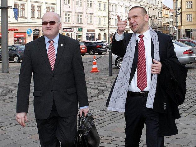 Ministr kultury Daniel Herman v Plzni