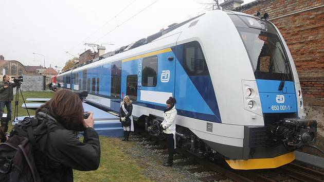 Představení nového vlaku RegioPanter