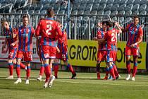 Postup do kvalifikace o Konferenční ligu fotbalisté Viktorie Plzeň zpečetili vítězstvím v Opavě (3:1).
