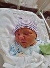 Antonín Kotlaba se narodil 31. března ve 3:46 mamince Petře a tatínkovi Václavovi zKrs. Po příchodu na svět vplzeňské FN vážil bráška skoro tříletého Vašíka 3630 gramů a měřil 50 centimetrů.