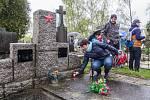 Zahájení turistické sezóny 2017 v Nepomuku. Připravena byla i prohlídka místního hřbitova.