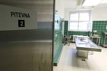 Pitevna Ústavu soudního lékařství v Procháskově ústavu v Plzni