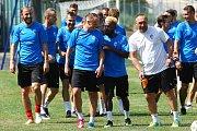Letní příprava fotbalistů FC Viktoria Plzeň