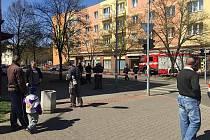Podezřelý balíček evakuoval poštu v Habrmannově ulici v Plzni