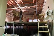 Budova plzeňského Střediska volného času Radovánek prochází rekonstrukcí