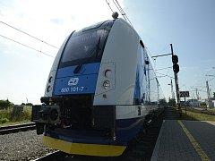 Nejnovější soupravu InterPanter minulý týden vyzkoušely České dráhy