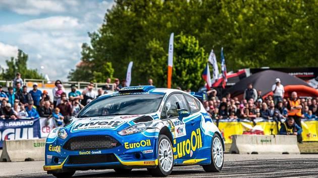 Václav Pech jede o víkendu Rallye Hustopeče.