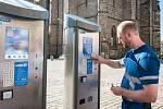 Parkování v Plzni se mění, řidiči budou do automatů zadávat SPZ